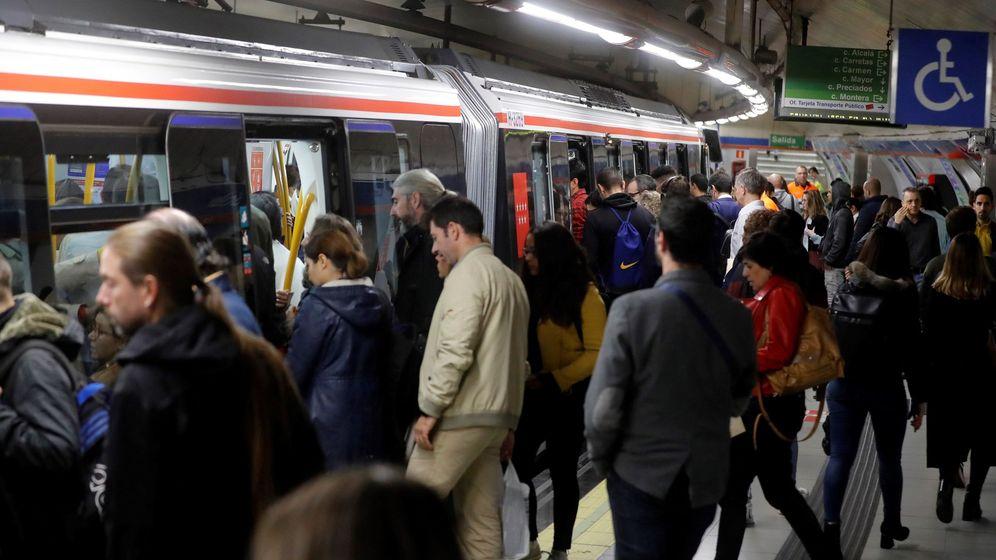 Foto: Los maquinistas de Metro de Madrid han desconvocado la huelga programada para la Cumbre del Clima (EFE)
