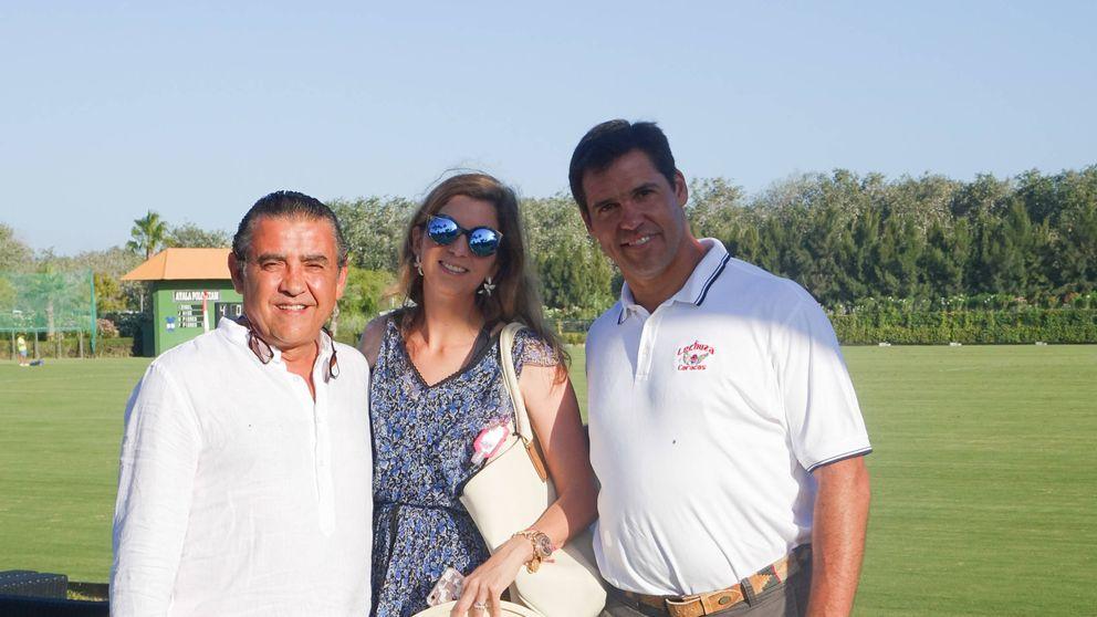 Luis Alfonso y Margarita Vargas: veraneo en Sotogrande con el tío Jaime