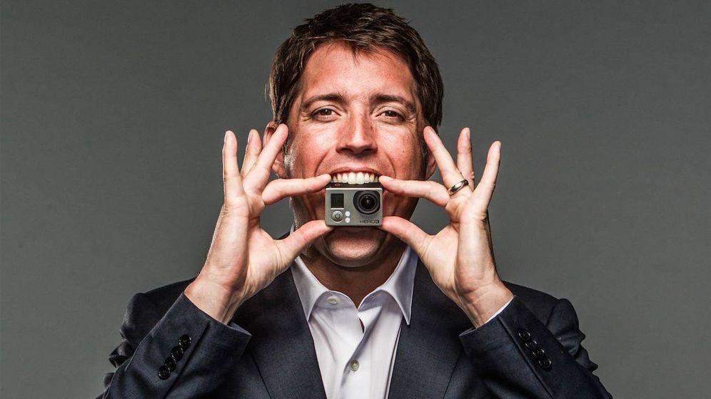 Foto: Nick Woodman, fundador de GoPro.