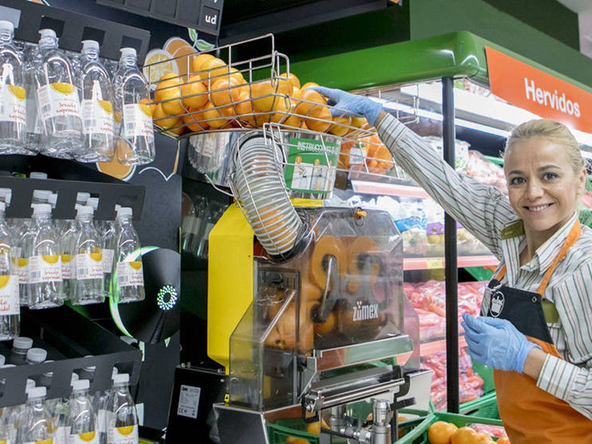 Foto: Zumex pone sus máquinas en Mercadona o Tesco; Zummo es proveedor de Carrefour o Lidl.