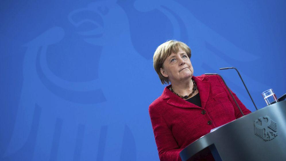 Foto: Angela Merkel comparece ante la prensa en Berlín, en noviembre de 2016 (Reuters)