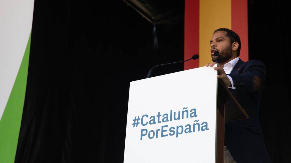 Foto: El candidato de Vox a la alcaldía de Barcelona, Ignacio Garriga. (EFE)