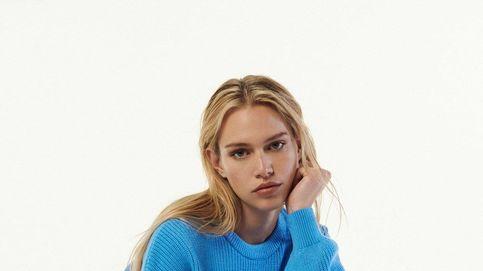 Acierta con el jersey azul de Zara para looks sofisticados