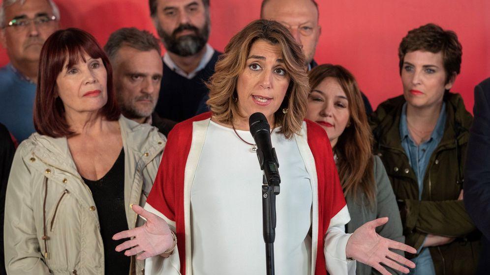 Foto: La secretaria general del PSOE andaluz, Susana Díaz. (EFE)
