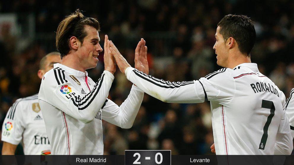 Bale lidera a un Real Madrid que transformó pitos en aplausos