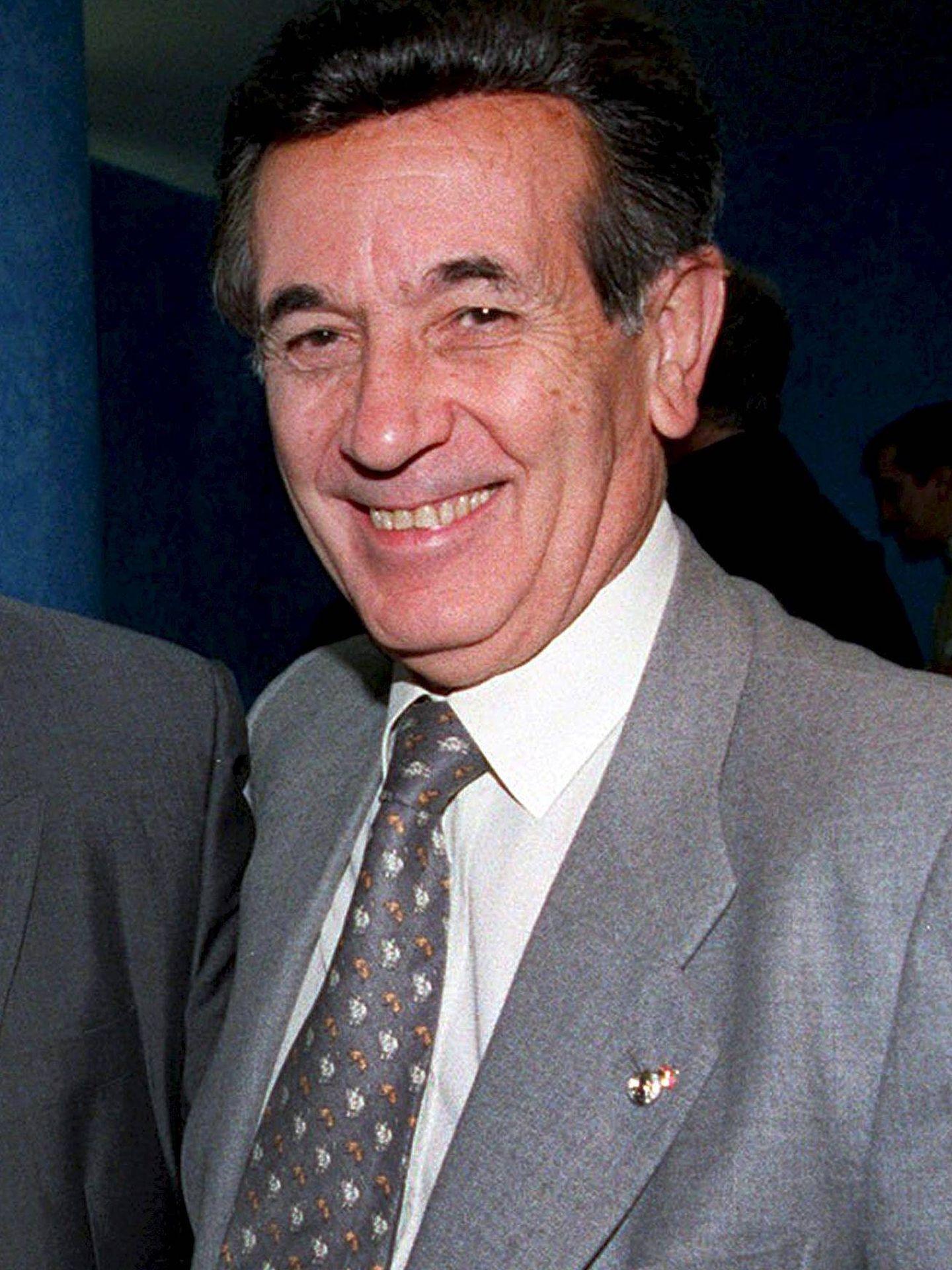 Imagen de archivo de Manuel Fernández Trigo, gerente del Real Madrid entre los años 1979 y 1999. (EFE)