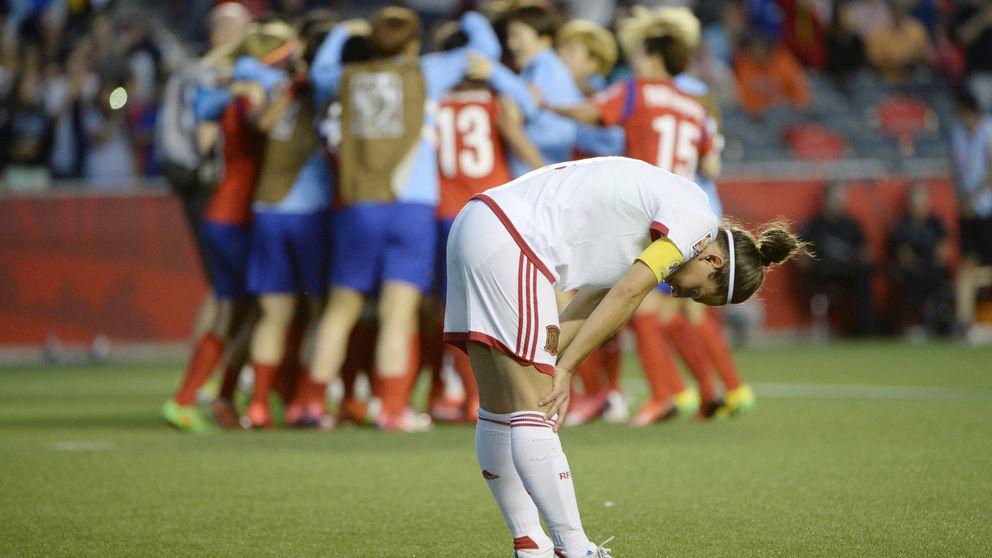 España paga la novatada y el sueño del Mundial femenino se acaba