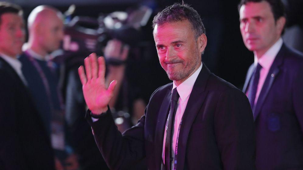 Foto: Luis Enrique, en noviembre de 2019. (EFE)