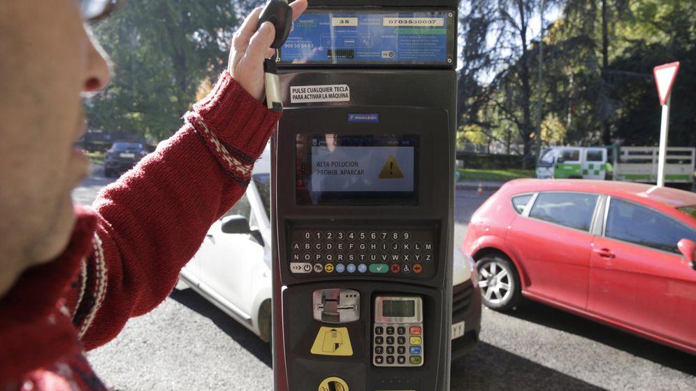 Foto: Un parquímetro de Madrid.