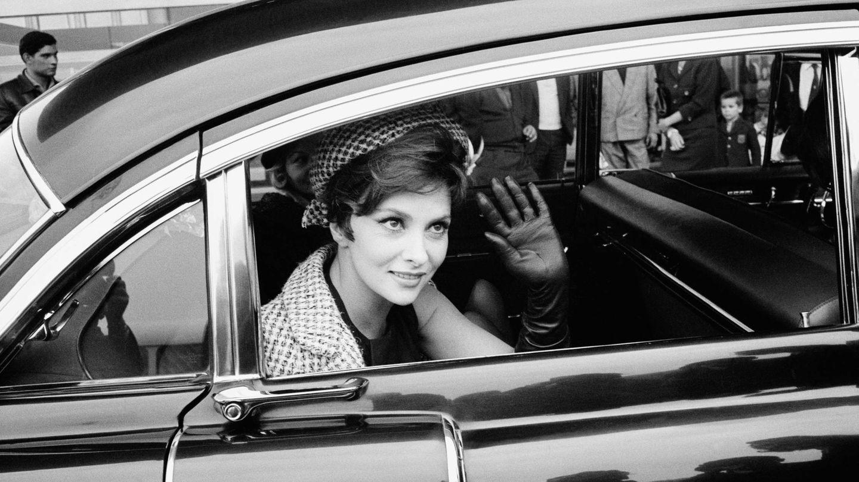 Gina Lollobrigida en 1960 en Roma. (Getty)