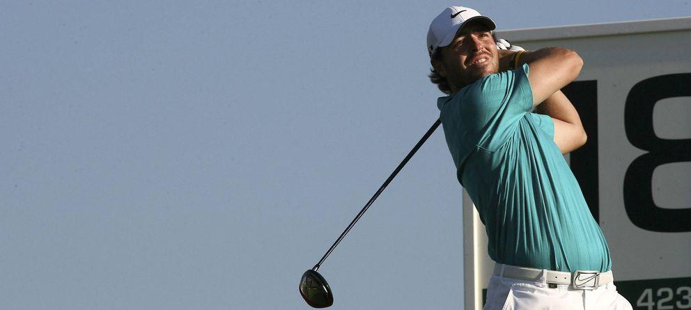 Pablo Martín, el hijo pródigo, vuelve a asomarse a la élite del golf mundial