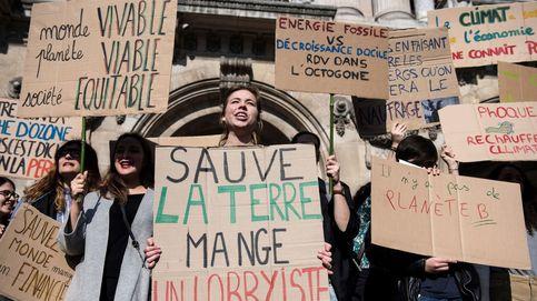 Marcha contra el cambio climático en París