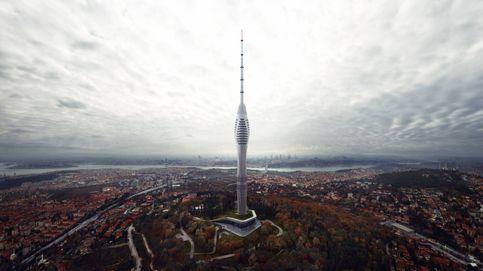 El nuevo 'pirulí' de Estambul tiene vistas panorámicas a Europa y Asia