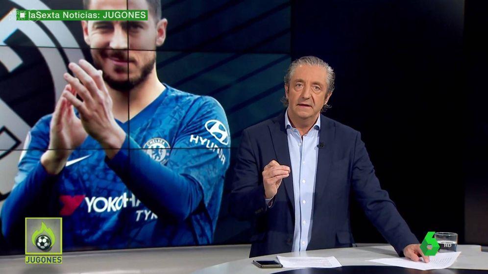 Foto: Pedrerol en 'Jugones' este jueves 6 de junio. (Atresmedia Televisión)