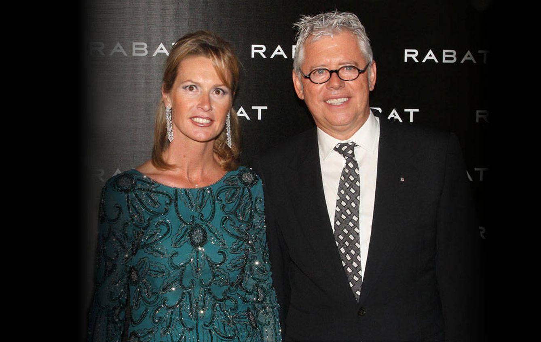 Foto: Esteban Rabat y su mujer en una imagen de archivo