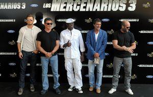 'Los mercenarios' llegan a Marbella