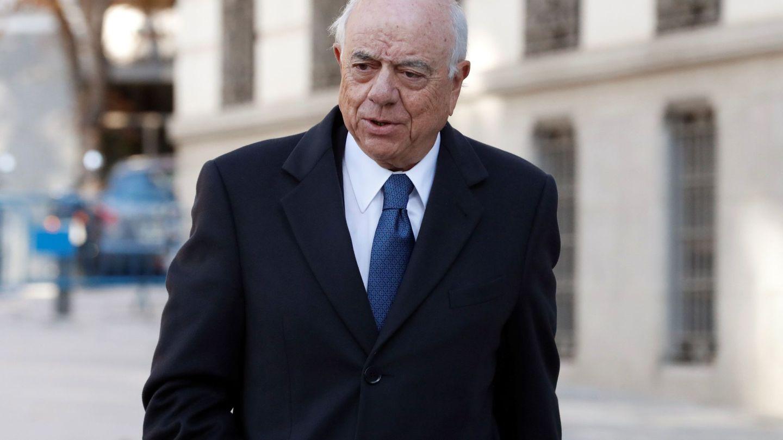 El expresidente de BBVA Francisco González, en la Audiencia. (EFE)