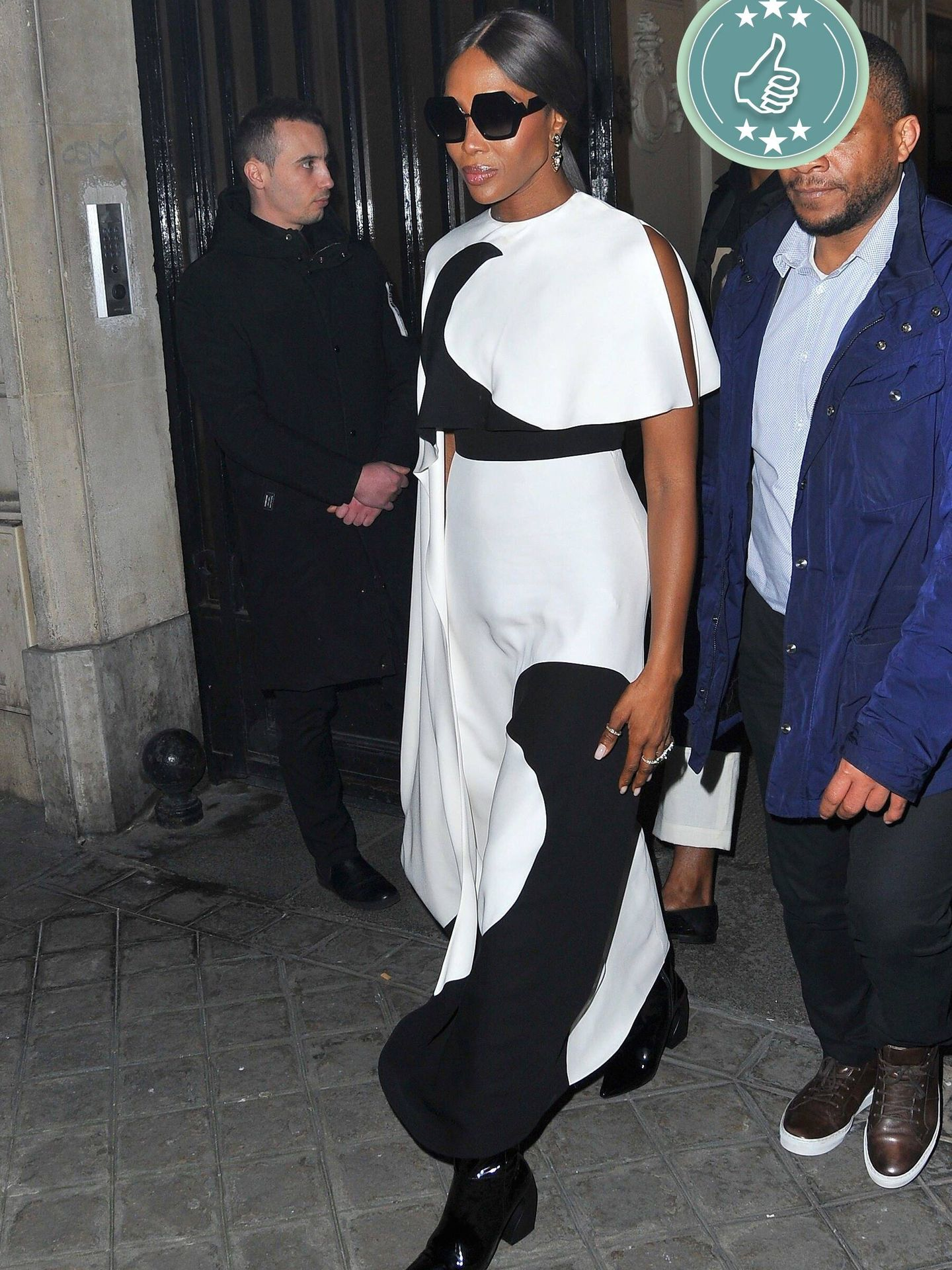 Naomi Campbell a su llegada a gala de la CFDA. (Cordon Press)