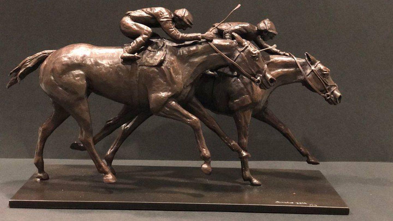 Una de las esculturas de Cristina Osorio. (Cortesía)