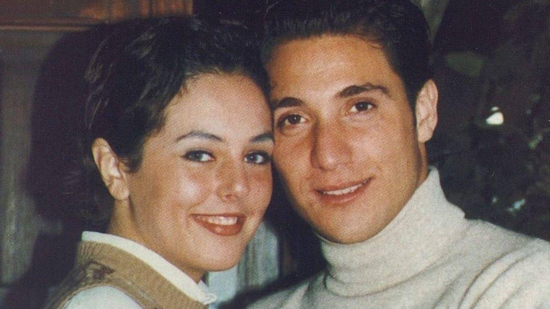 Rocío Carrasco y Antonio David Flores de jóvenes. (Mediaset España)