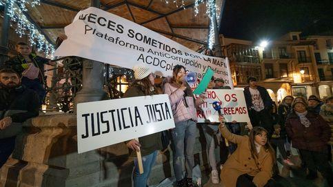 Unas 350 personas marchan en Aranda de Duero contra la sentencia del caso Arandina