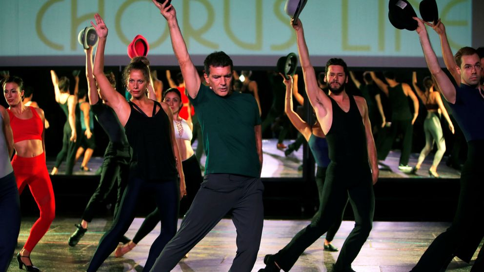 Antonio Banderas presenta su 'Broadway' en Málaga: A Chorus Line es un sueño