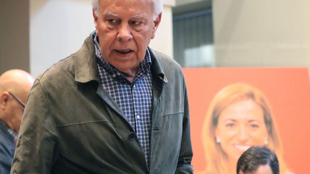 Foto: Felipe González, expresidente del Gobierno. (EFE)