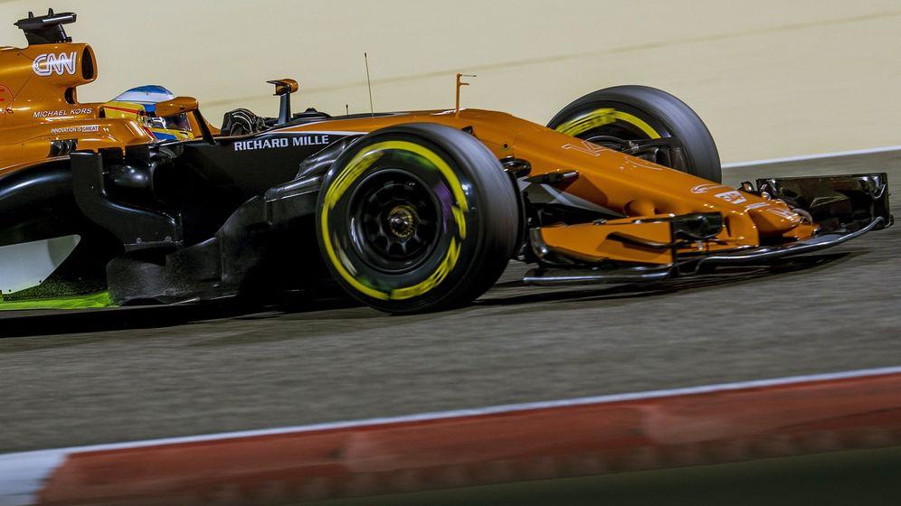 Foto: Fernando Alonso, en el GP de Baréin. (EFE)