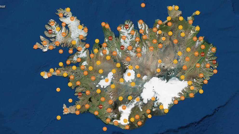 Islandia cree en los elfos: este es el mapa de los últimos 'avistamientos'