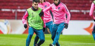 Post de Vrsaljko y Correa, los dos únicos positivos por coronavirus del Atlético de Madrid