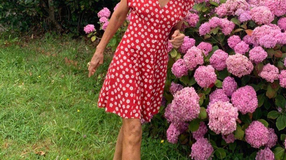 Carmen Lomana se quita 20 años con un vestido de Mango Outlet y le damos un 10