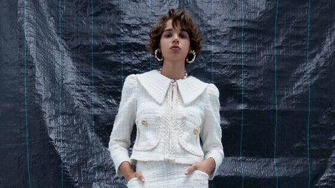 Uterqüe reinventa el traje de tweed eterno en sus novedades
