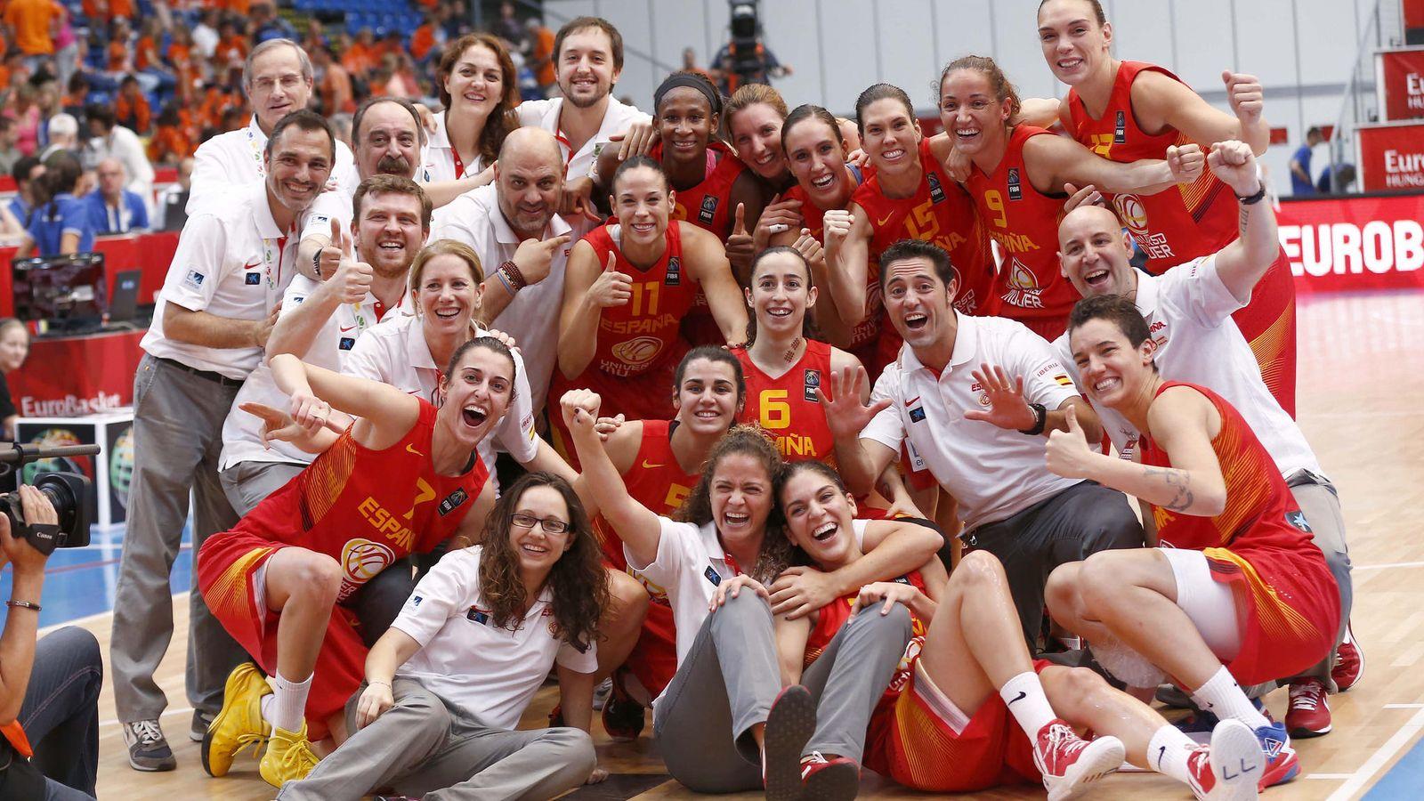 Foto: España sumó la octava medalla europea de su historia (Foto: FEB)