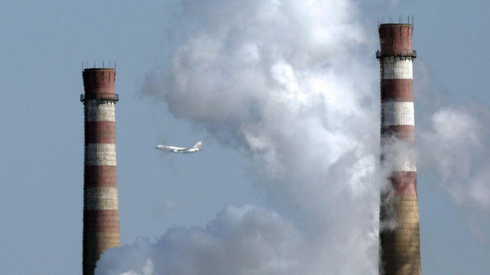 Foto: Contaminación en China. (EFE)