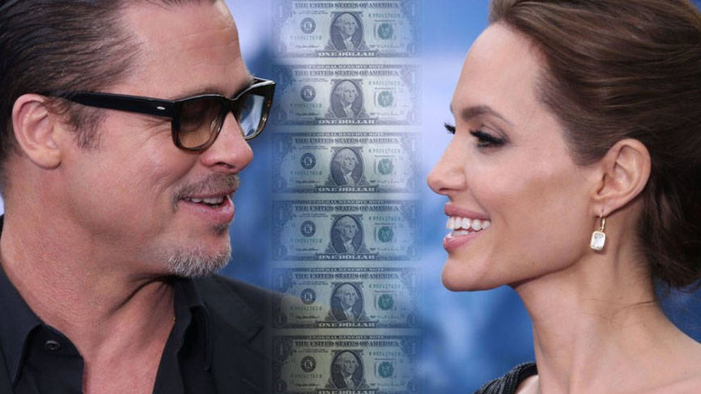 El contrato que firmaron Brad y Angelina: 400 millones y seis custodias en juego