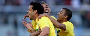 Fred salva un punto para Brasil en el último minuto de partido