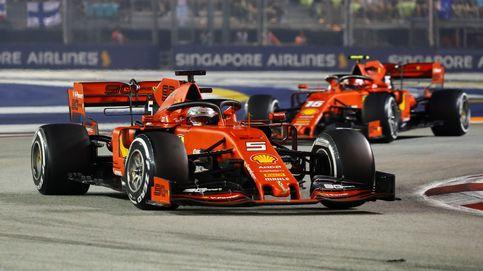 Resultado F1: Vettel vuelve a ganar en el lío de Ferrari y Sainz solo puede ser 12º