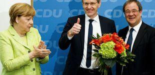 Post de Merkel se impone sobre Schulz en Renania del Norte-Westfalia