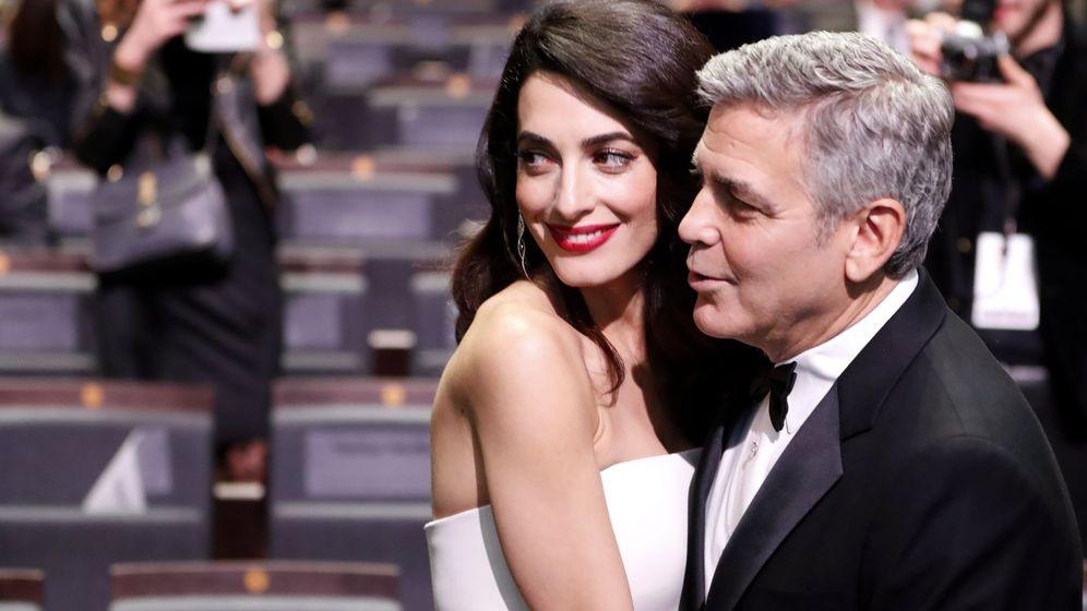 Foto: George y Amal Clooney en una imagen de archivo. (EFE)