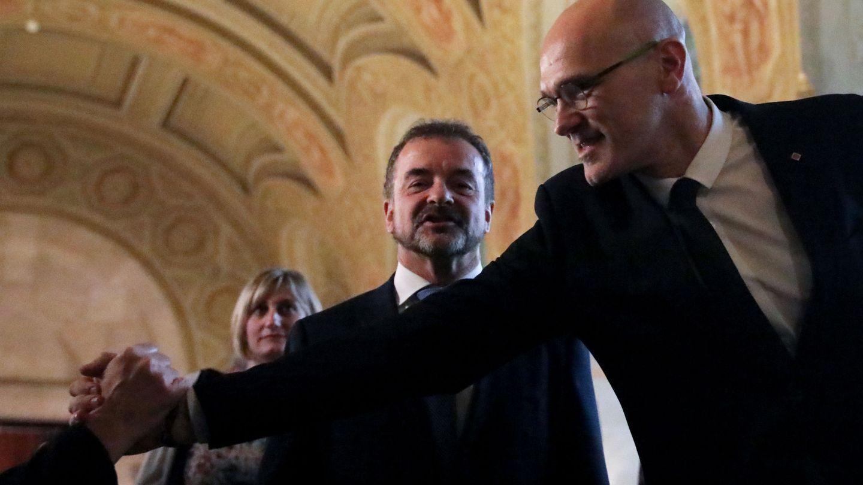 El 'exconseller' de Exteriores Raül Romeva. (Reuters)