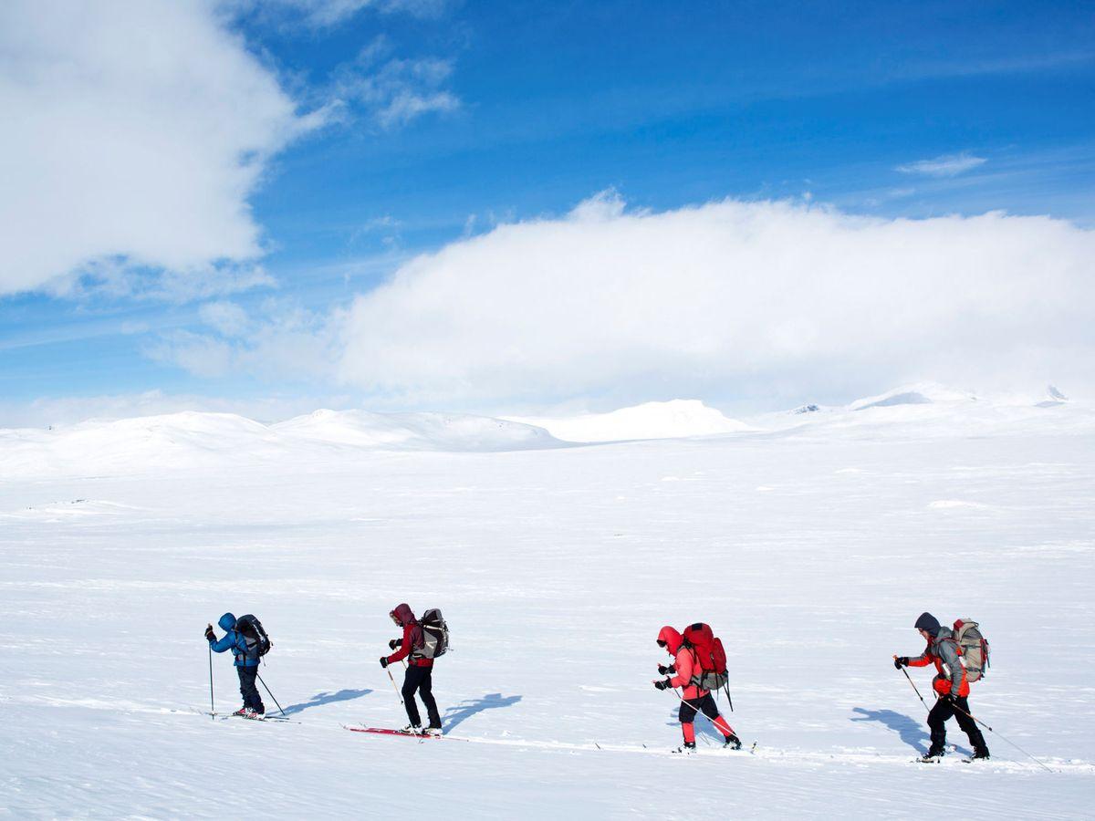 Foto: Las montañas de Jotunheimen, en Noruega, guardaban un secreto arqueológico. (Reuters)