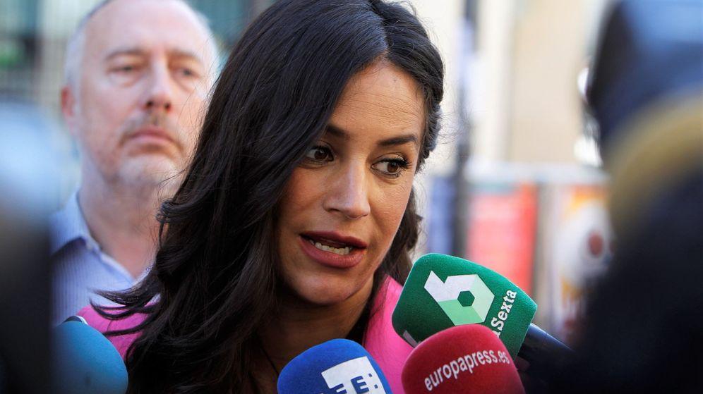 Foto: La candidata de Ciudadanos a la alcaldía de la capital, Begoña Villacís (Efe)