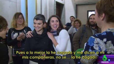 'Zapeando' bromea con la cagada de Irene Montero con las obras de Sijena
