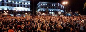 Foto: Madrugada de protestas contra los recortes en la capital