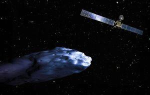Rosetta 'acariciará' al cometa testigo del Sistema Solar más primitivo