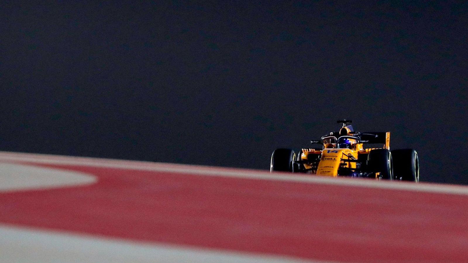 Foto: Fernando Alonso, en el circuito de Sakhir. (EFE)