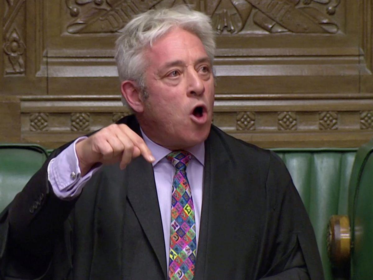 Foto: Mr. Speaker, presidente de la Cámara de los Comunes, John Bercow. (Reuters)