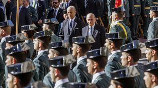 La Guardia Civil suprime los 'guateques' durante la celebración de la Virgen del Pilar