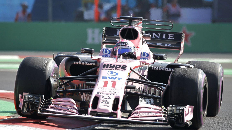 Las 'T wings' de Force India la pasada temporada. (EFE)