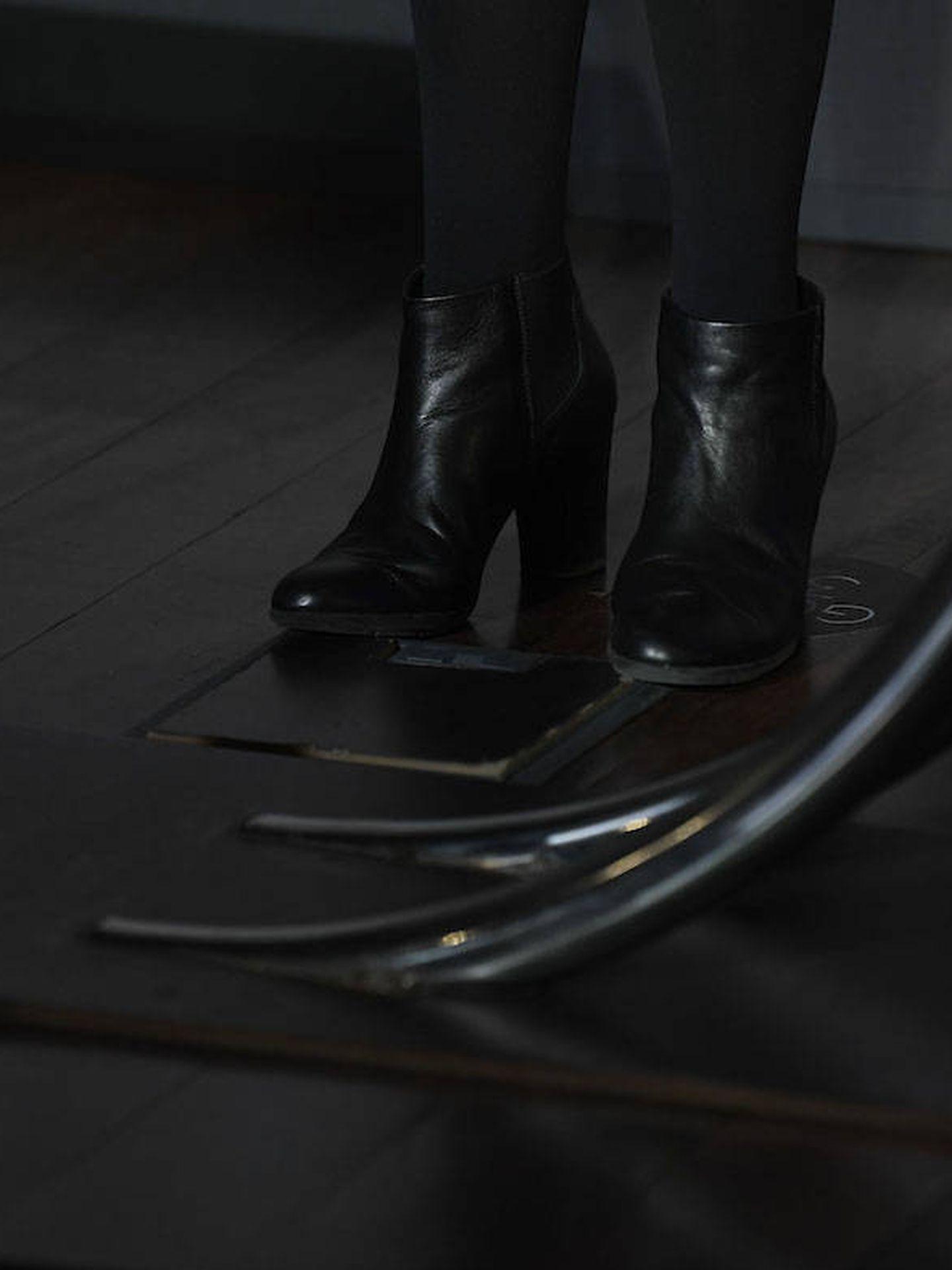 Detalle de los botines de Ana Belén. (Limited Pictures)